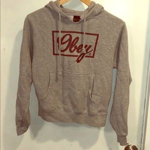 Obey hoodie, XS